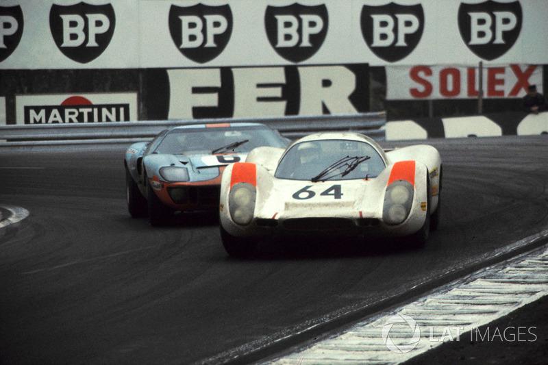 Hans Herrmann, Porsche 908 ve Jacky Ickx, John Wyer Automotive Ford GT40
