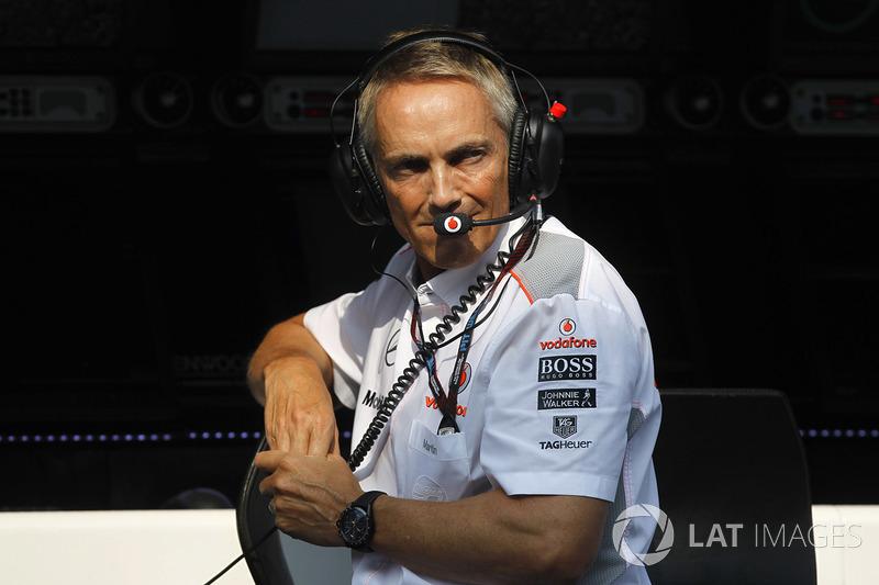 Martin Whitmarsh: Chefe de operações da McLaren, foi figura importante no primeiro título de Hamilton, em 2008, já que Ron Dennis ainda se via com problemas após o famoso caso do Spygate, no ano anterior.