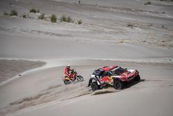 Сириль Депре и Давид Кастера, Peugeot Sport, Peugeot 3008 DKR (№308), Херард Фаррес, Himoinsa Racing