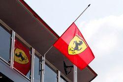 Ferrari flags at half mast in honour of Sergio Marchionne