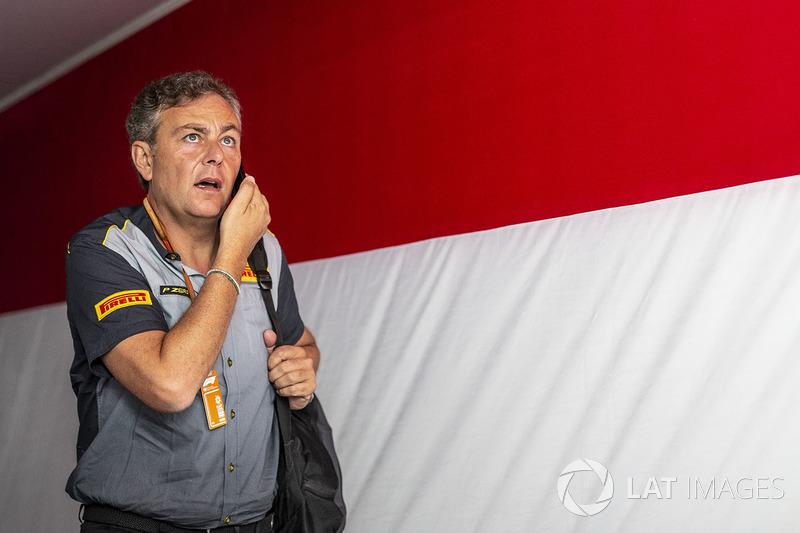 Mario Isola, Direktur Olahraga Pirelli