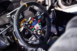 M-Sport Ford steering wheel detail