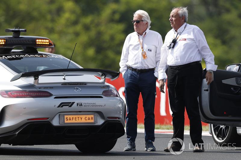 Safety car e Charlie Whiting, Delegato FIA