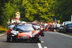 #58 Garage 59 McLaren 650 S GT3: Côme Ledogar, Ben Barnicoat, Olivier Pla