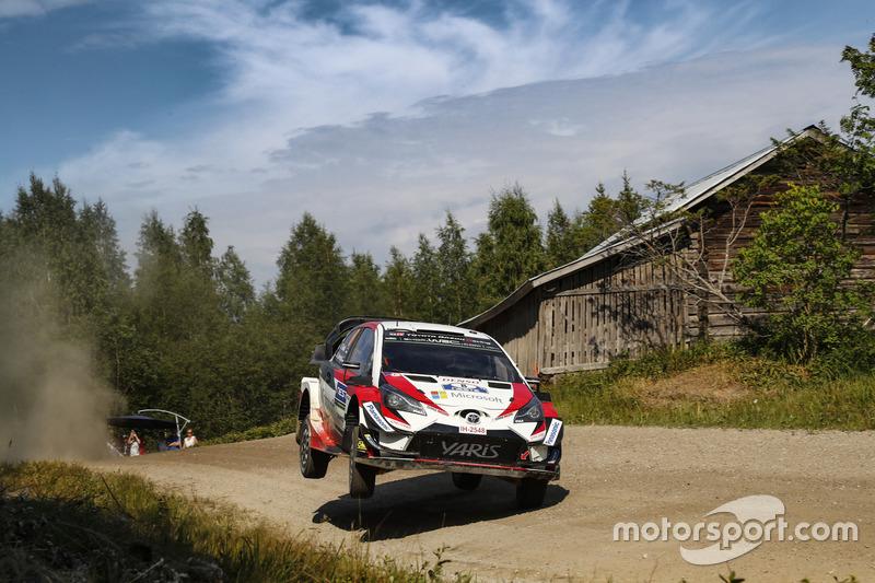 7. Rally de Finlandia 2018: 122,57 km/h