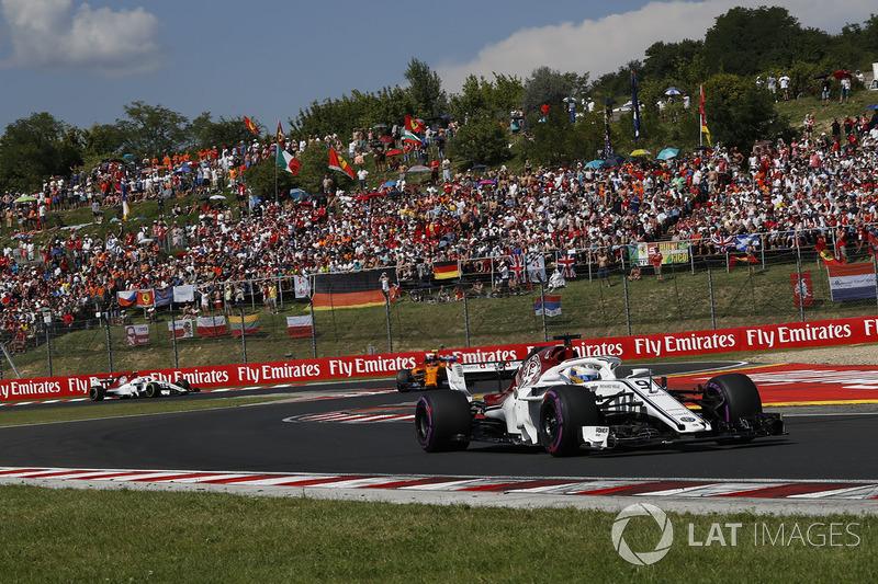 Marcus Ericsson terminou em 15º