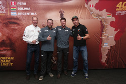 Christian Lavieille, Tobias Henschel, Marcus Walcher and Nani Roma