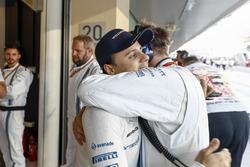 Felipe Massa, Williams, prepares for his last race in F1