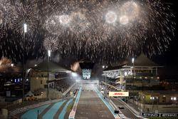 Race winner Valtteri Bottas, Mercedes-Benz F1 W08 celebrates in parc ferme alongside Lewis Hamilton