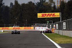 Brendon Hartley, Scuderia Toro Rosso STR12 abandonne