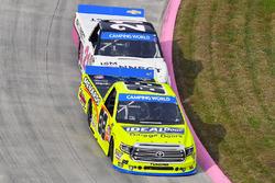 Matt Crafton, ThorSport Racing Toyota and Johnny Sauter, GMS Racing Chevrolet