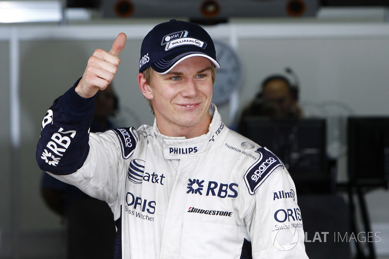 Polesitter Nico Hulkenberg, Williams
