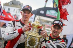 Winners Elfyn Evans, Daniel Barritt, Ford Fiesta WRC, M-Sport