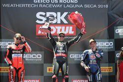 Jonathan Rea, Kawasaki Racing podyumda