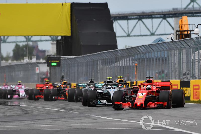 Três pistas já foram sede do GP do Canadá: Mont-Tremblant (em duas oportunidades), Mosport (em oito) e a Ilha de Notre-Dame (39) - que recebeu o nome de Gilles Villeneuve após a morte do piloto canadense.