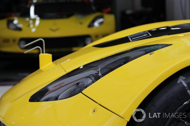 Corvette Racing detail