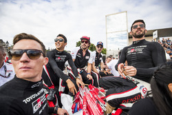 Mike Conway, Kazuki Nakajima, Fernando Alonso, Sébastien Buemi & Jose Maria Lopez, Toyota Gazoo Racing