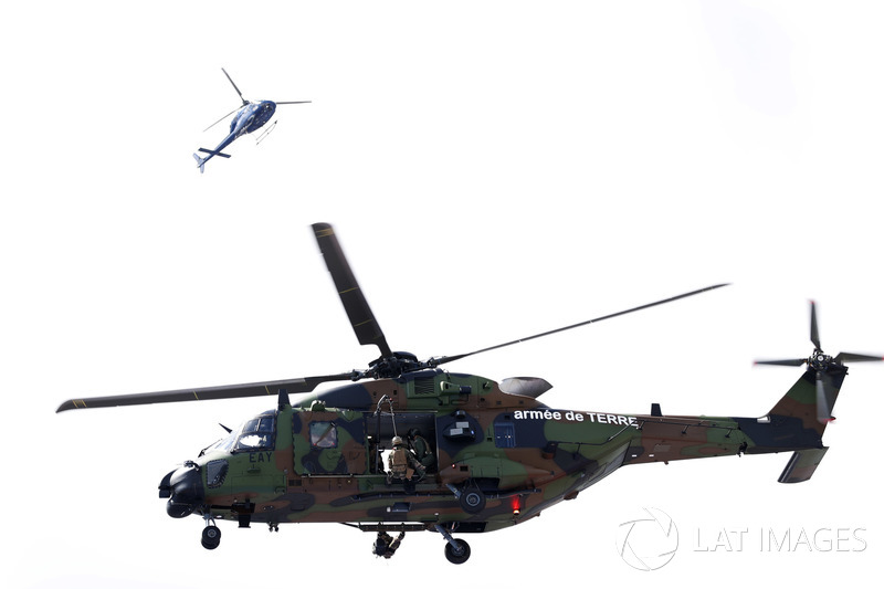 An NHIndustries NH90 helicopter of the French Army