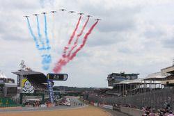 Le Mans, esibizione aerea