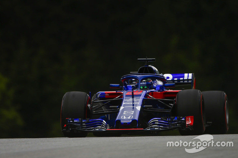 19: Brendon Hartley, Toro Rosso STR13, 1'05.366