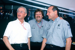 Jürgen Hubbert, Norbert Haug, Ron Dennis