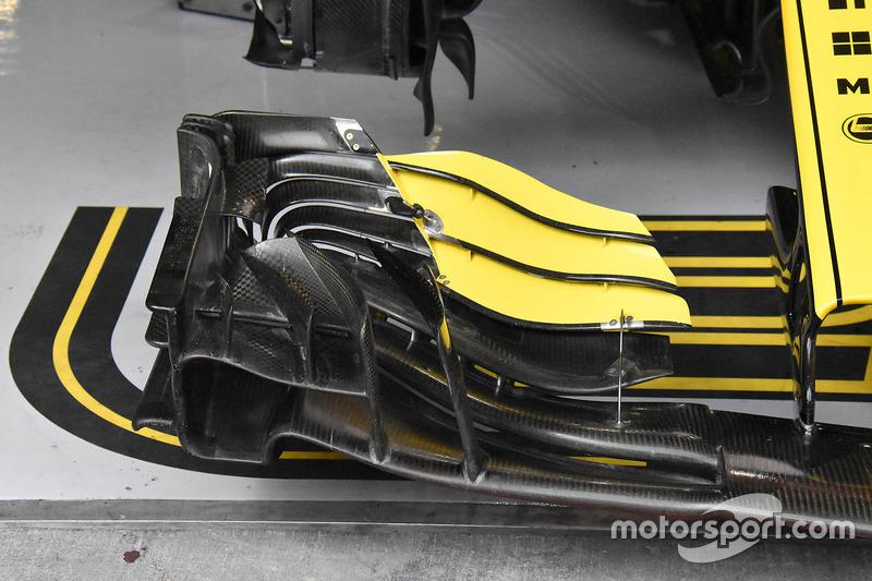 Nico Hulkenberg, Renault Sport F1 Team R.S. 18, első szárny, részlet