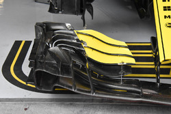 Nico Hulkenberg, Renault Sport F1 Team R.S. 18 detalle ala delantera