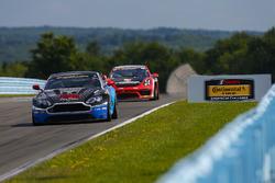 #99 Automatic Racing, Aston Martin Vantage, GS: Al Carter, Eric Lux