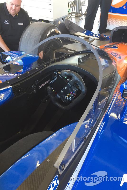 Испытания системы «аэроскрин»: Скотт Диксон, Chip Ganassi Racing Honda