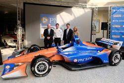 Chip Ganassi, Scott Dixon, Chip Ganassi Racing, Bill Demchak, PNC Chairman, President and Chief Executive Officer, Connie Bond Stuart, PNC Regional President for PNC Regional President for central and southern Indiana