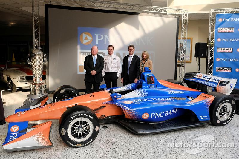Chip Ganassi, Scott Dixon, Chip Ganassi Racing, Bill Demchak, PNC Chairman, President and Chief Exec