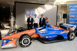 Chip Ganassi, Scott Dixon, Chip Ganassi Racing, Bill Demchak, PNC CEO, Connie Bond Stuart, PNC