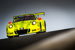 Ромен Дюма, Фредерик Маковецки, Дирк Вернер, Manthey-Racing, Porsche 911 GT3 R (№911)