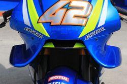 Alex Rins, Team Suzuki MotoGP wing fairing