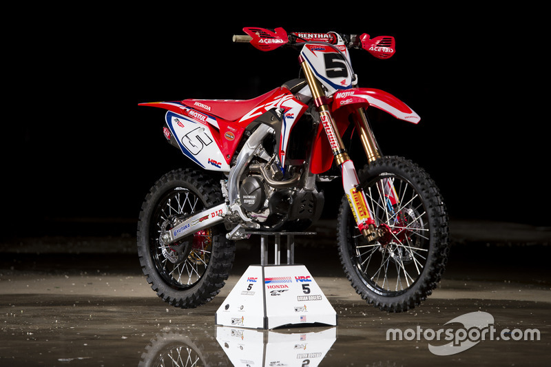 Bike of Brian Bogers, Team HRC