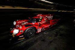#99 JDC/Miller Motorsports ORECA 07, P: Stephen Simpson, Mikhail Goikhberg, Chris Miller, Gustavo Menezes, pit stop