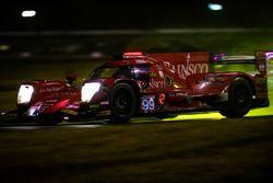 #99 JDC/Miller Motorsports ORECA 07, P: Stephen Simpson, Mikhail Goikhberg, Chris Miller, Gustavo Menezes rain