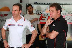Alberto Puig, Repsol Honda Teambaas, Emilio Alzamora