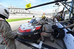 #912 Porsche Team North America Porsche 911 RSR, GTLM: Gianmaria Bruni, Laurens Vanthoor, Earl Bambe