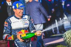 Le vainqueur Sébastien Ogier, M-Sport Ford