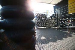 Des pneus Pirelli