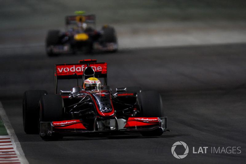 Singapur - Lewis Hamilton - 4 victorias