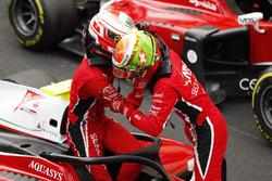 Antonio Fuoco, Charouz Racing System and Lando Norris, Carlin