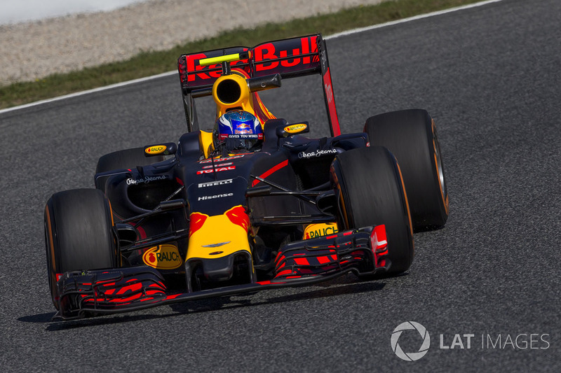2016: Маx Verstappen, Red Bull-TAG Heuer RB12