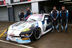 Stephen Johansen, Jesse Anttila UltraTek Racing Team RJN Nissan 370Z GT4 and Kelvin Fletcher, Martin Plowman UltraTek Racing Team RJN Nissan 370Z GT4