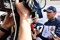 Robert Kubica, Williams con los medios
