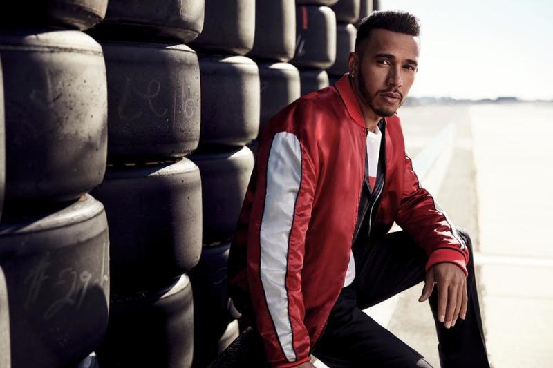 Lewis Hamilton campaña con Tommy Hilfiger