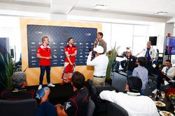 Felix Rosenqvist, Mahindra Racing, Nick Heidfeld, Mahindra Racing, in the emotion club