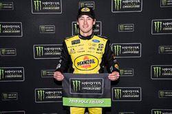 Ganador de la pole Ryan Blaney, Team Penske, Ford Fusion Menards / Pennzoil