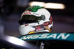 Helmet of Michael Caruso, Nissan Motorsport
